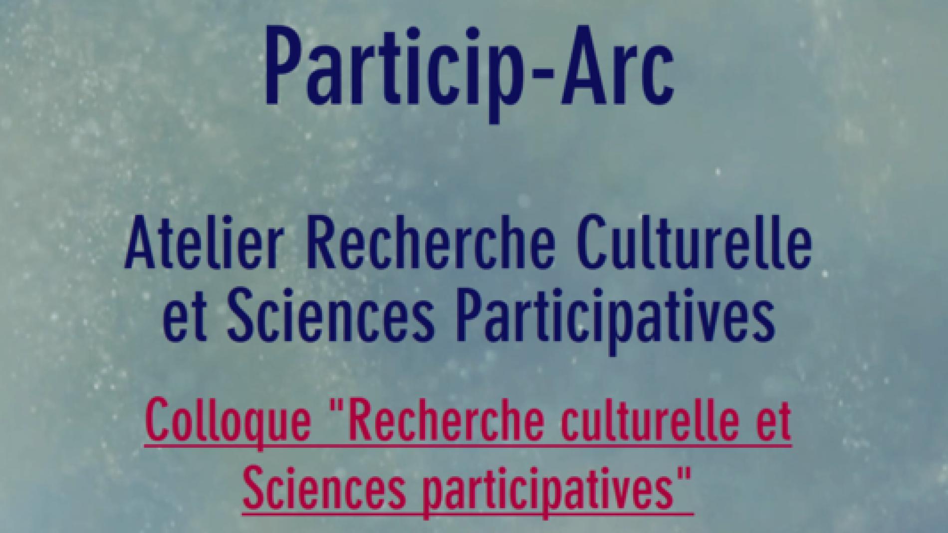 Colloque Particip-Arc
